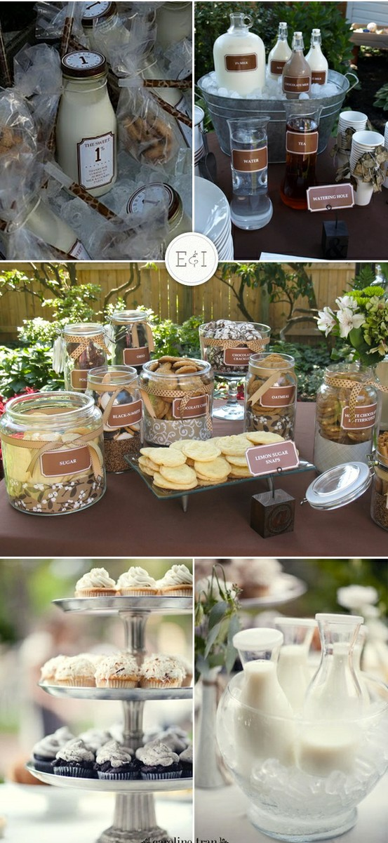 Milk and Cookie Bar via Engaged & Inspired