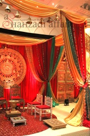 The Mandap Setup - Karma Design Studio