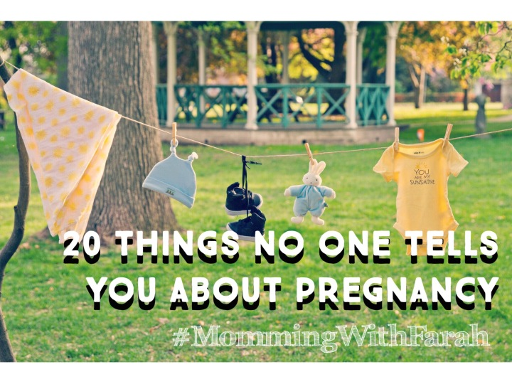 20 things no one tells you about pregnancy