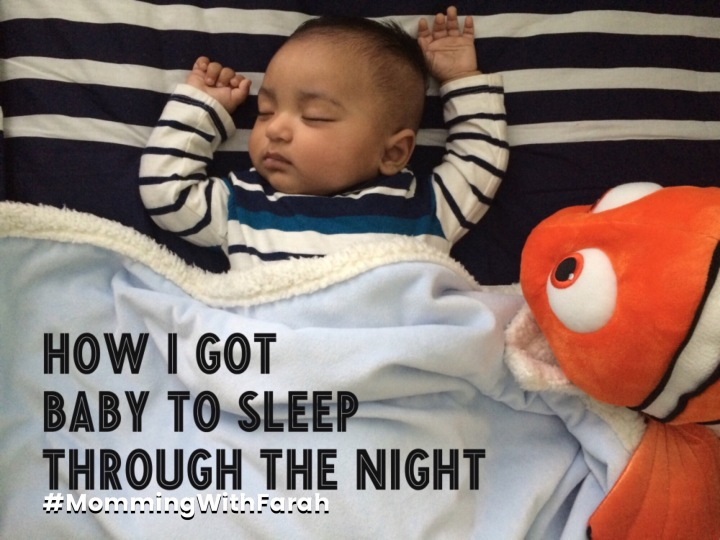 How I Got Baby to Sleep Through the Night