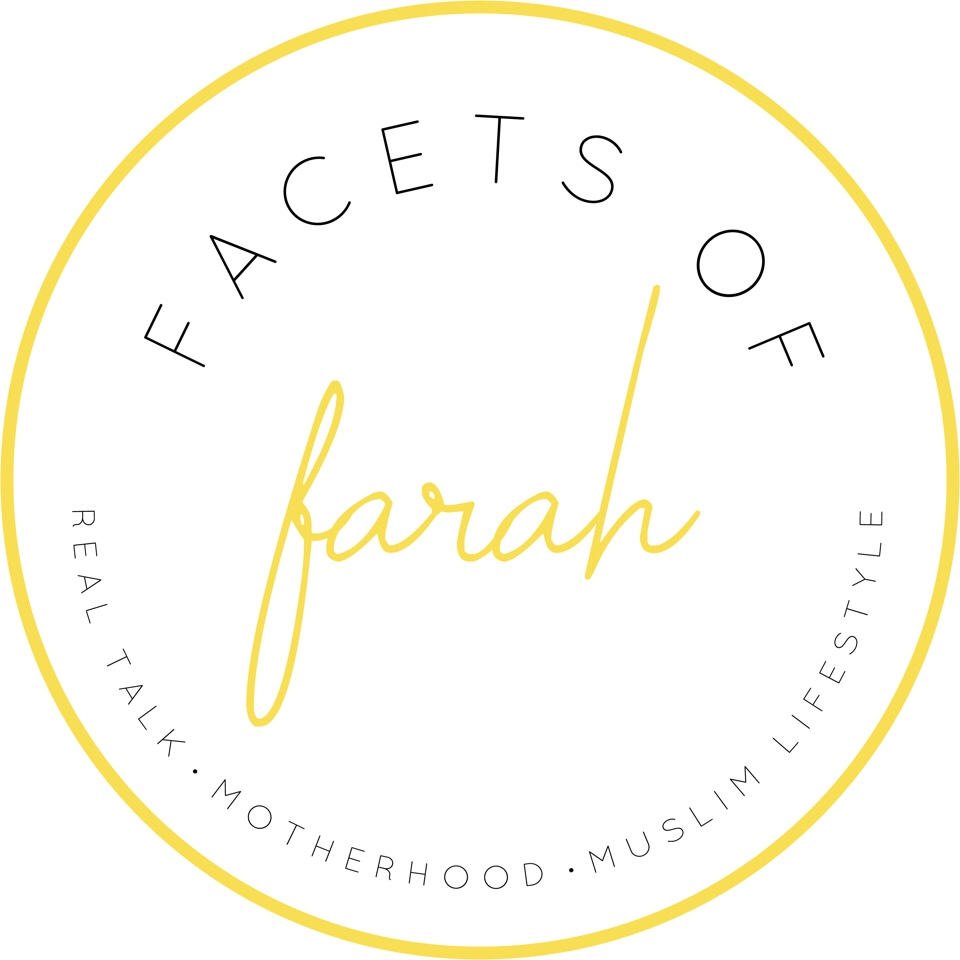 Yellow circle logo Facets of Farah